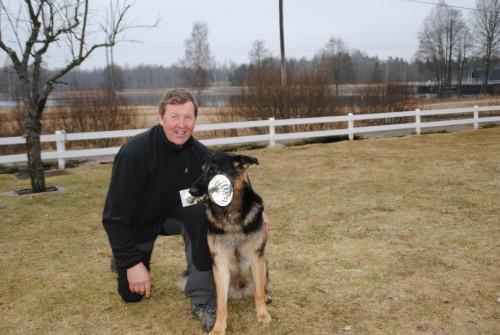 En glad Anders med Åsmo